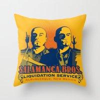 Salamanca Brothers Throw Pillow