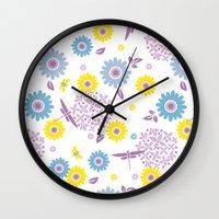 Summer Buzz Wall Clock