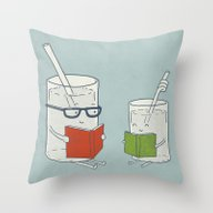 Reading Glasses Throw Pillow