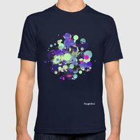 NeoGoop Mens Fitted Tee Navy SMALL