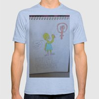 Bootleg Series: Meggie Sampson the feminist Mens Fitted Tee Athletic Blue SMALL