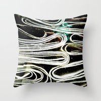 Hard paper Throw Pillow