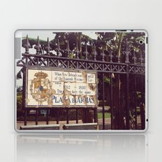 Plaza D'Armas New Orleans French Quarter City Color Photography Laptop & iPad Skin