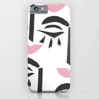 Modern Art Face iPhone 6 Slim Case
