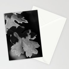 Sunlit Oak Leaf Stationery Cards