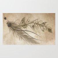 Bohemian Feather Rug