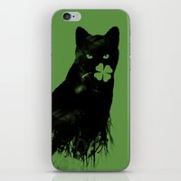St Paddy's Cat iPhone & iPod Skin