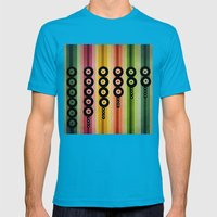 door beads Mens Fitted Tee Teal SMALL