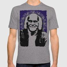 Ram Dass Mens Fitted Tee Athletic Grey SMALL