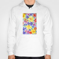 Hoody featuring Flowers by Nato Gomes