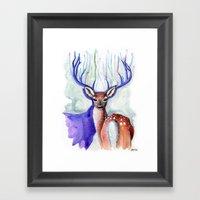 Trust Me, My Deer Framed Art Print