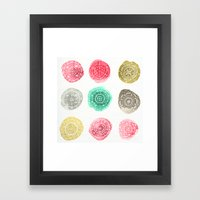 Crafty Stains Framed Art Print