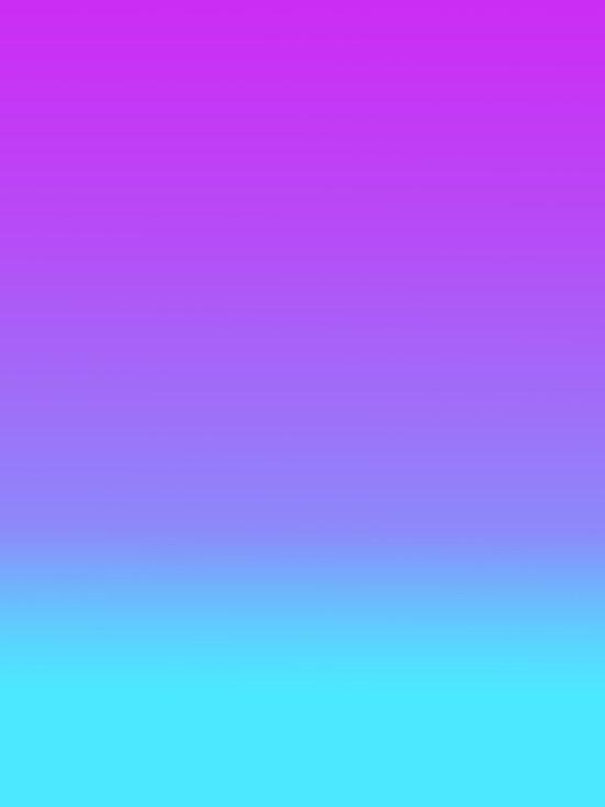 Violet Teal Fade Art Print