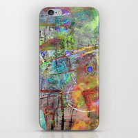 Color Dance iPhone & iPod Skin