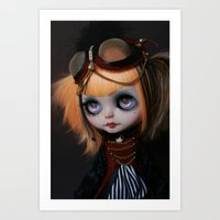 FREAKCIRCUS (Ooak BLYTHE… Art Print