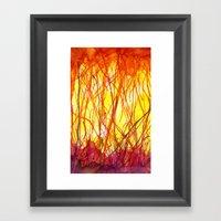 Hot Heat Ha! Framed Art Print
