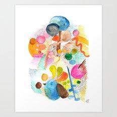 Abstract Nature Art Print