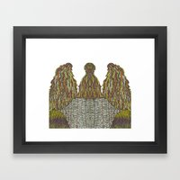 Humps! Framed Art Print
