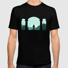 Time Traveler Mens Fitted Tee Black SMALL