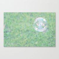 Bubble Canvas Print