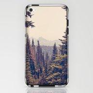 Mountains Through The Tr… iPhone & iPod Skin