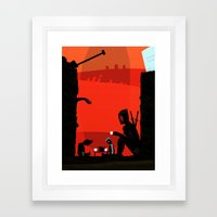 (Tea Parties are) DeadCOOL Framed Art Print