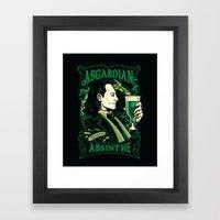 Asgardian Absinthe Framed Art Print