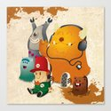 Magic Forest Gang! Canvas Print