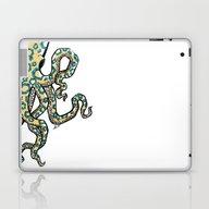 Blue Ringed Octopus  Laptop & iPad Skin