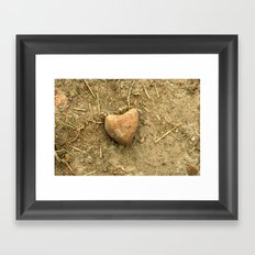 Stony Heart Framed Art Print