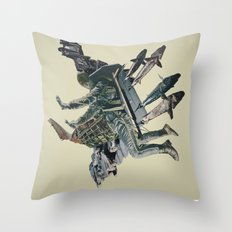 The Burden Throw Pillow