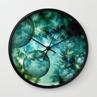 Mystery Worlds Wall Clock