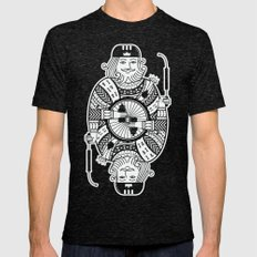 King of the road Mens Fitted Tee Tri-Black SMALL