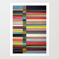 Colorsplit 2 Art Print