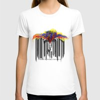 Unzip The Colour Code Womens Fitted Tee White SMALL
