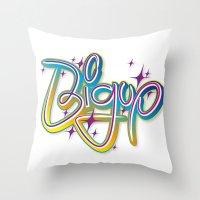 Bigup Throw Pillow