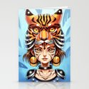 Tiger Tribe Stationery Cards