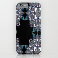 iPhone & iPod Case featuring Internal Kaleidoscopic Daze-15 by Jay's Bizangos