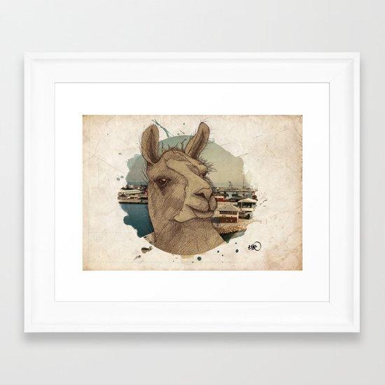 adventurous spirit Framed Art Print