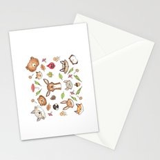 Woodland Kaleidoscope Stationery Cards