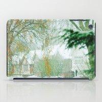 Snowy Morning iPad Case