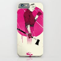 iPhone & iPod Case featuring Mr Spiv by MR FOUR FINGERS