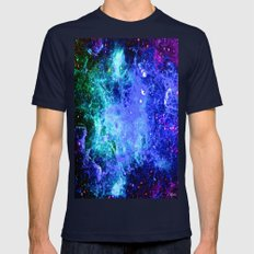 NEBULAR  Mens Fitted Tee Navy SMALL