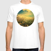 Counting Flowers Like St… Mens Fitted Tee White SMALL