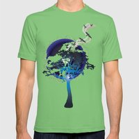 Into The Wild Mens Fitted Tee Grass SMALL
