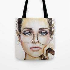 Face For NYC Tote Bag