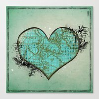 Heart #3 Canvas Print
