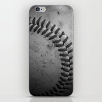 Baseball iPhone & iPod Skin