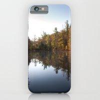 Mirrored Lake in Fall iPhone 6 Slim Case