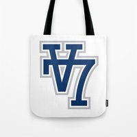 V7 - Darkside Tote Bag